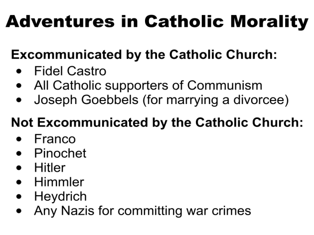 Adventure in Catholic Morality #1 Communism and Fascism